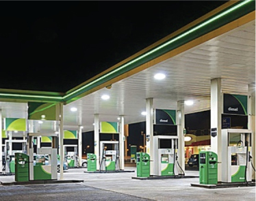 Petrol Kiosk Lighting